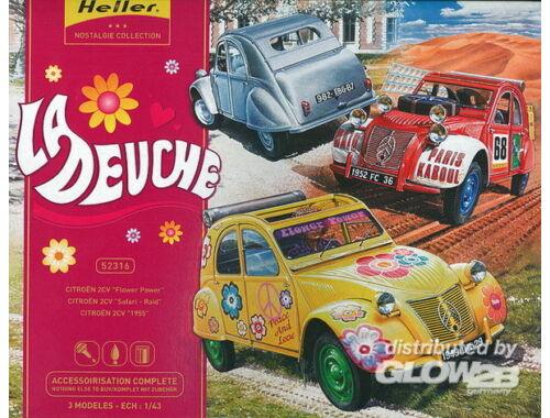 Heller Model Set La Deuche 1:43 (52316)