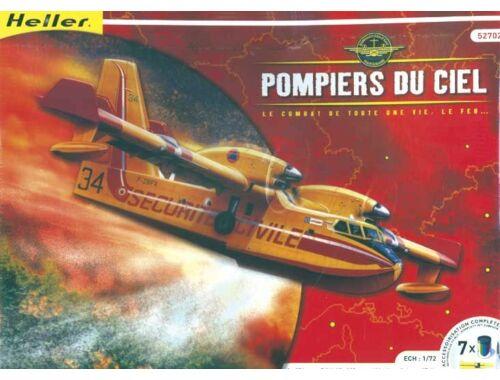 Heller Model Set Pompiers du ciel 1:72 (52702)
