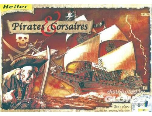 Heller Pirates   Corsaires Schiffsmodell 1:200 (52703)