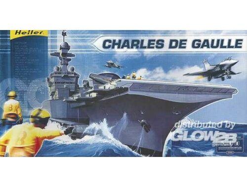 Heller Model Set Charles de Gaule 1:400 (52905)