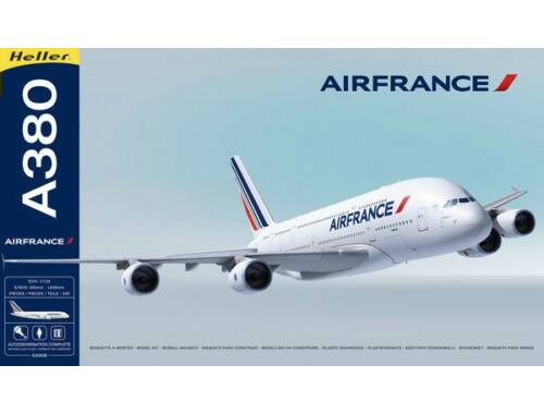 Heller Model Set Airbus A380 Air France 1:125 (52908)