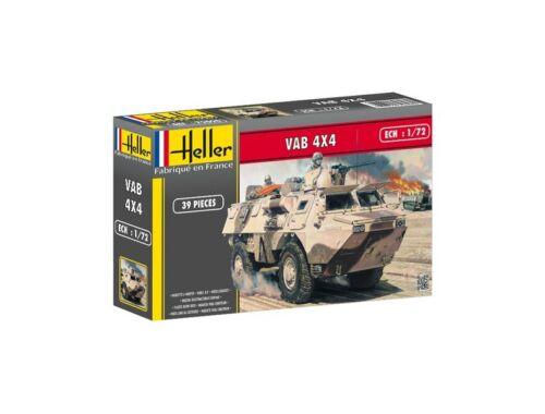Heller Truppentransporter VAB 4x4 1:72 (79898)