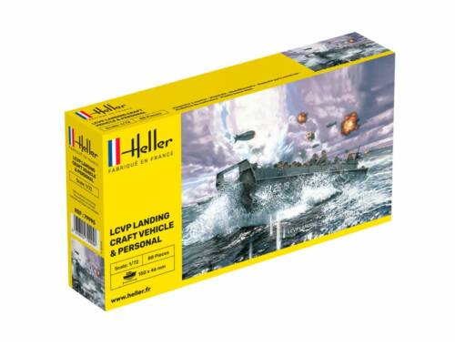 Heller LCVP Landing Craft Vehicle   Personel 1:72 (79995)