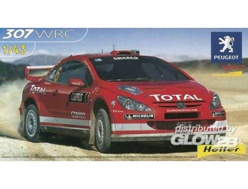 Heller Peugeot 307 WRC 04 1:43 (80115)