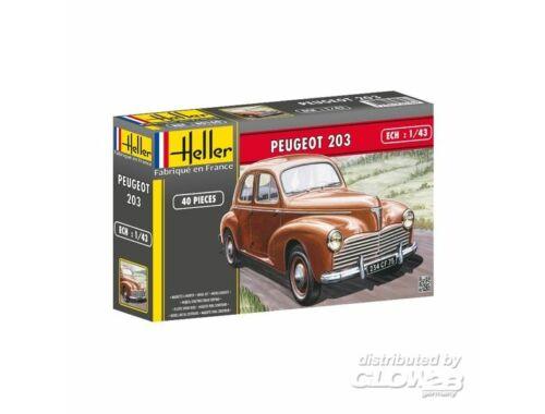 Heller Peugeot 203 1:43 (80160)