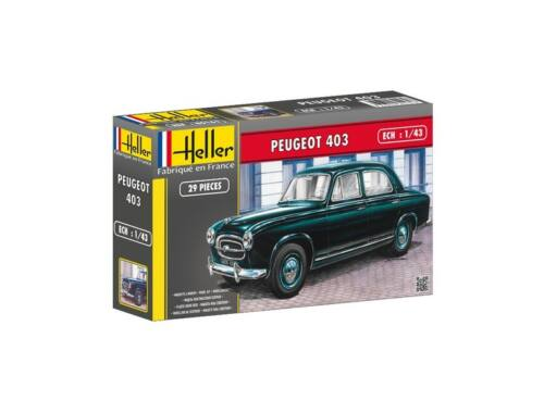 Heller Peugeot 403 1:43 (80161)