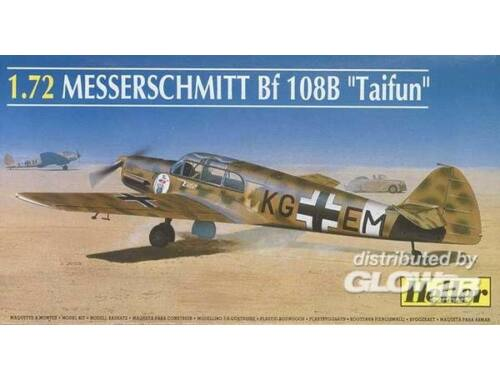 Heller Messerschmitt Bf 108 B Taifun 1:72 (80231)
