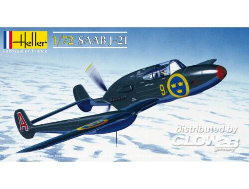 Heller Saab J21 1:72 (80261)