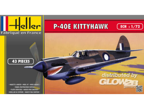 Heller P-40E Kittyhawk 1:72 (80266)