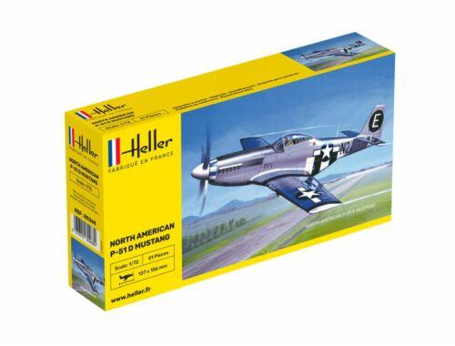 Heller North American P-51 Mustang 1:72 (80268)
