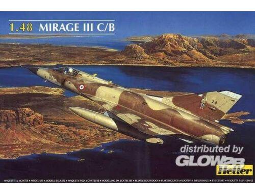 Heller Dassault Mirage III C/B 1:48 (80411)
