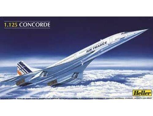 Heller Concorde AF 1:125 (80445)