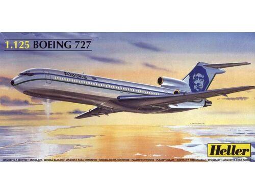 Heller Boeing 727 Alaska 1:125 (80447)