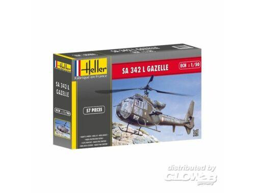 Heller SA 342 Gazelle 1:50 (80486)
