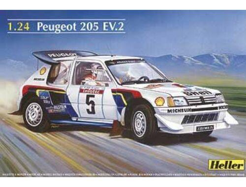 Heller Peugeot 205 EV 2 1:24 (80716)