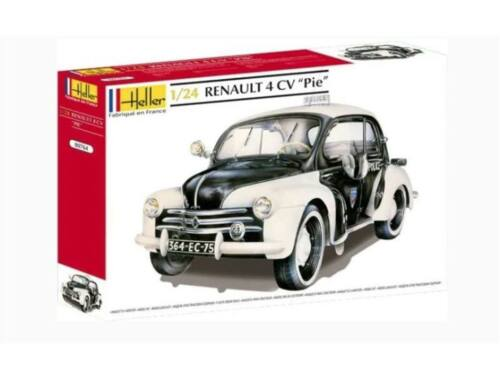 Heller Renault 4CV ''PIE'' Limitierte Serie 1:24 (80764)