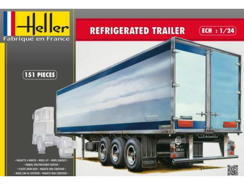 Heller Refrigerated trailer 1:24 (80776)