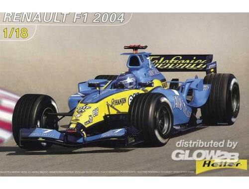 Heller F1 Renault 2004 1:18 (80797)