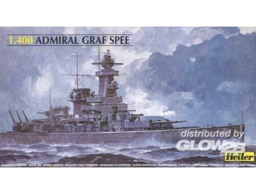 Heller Panzerschiff Admiral Graf Spee 1:400 (81046)