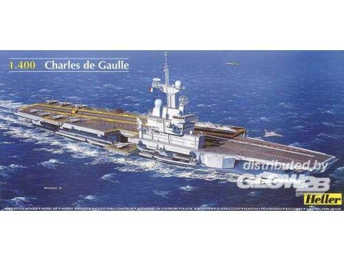 Heller Flugzeugträger Charles de Gaulle 1:400 (81072)
