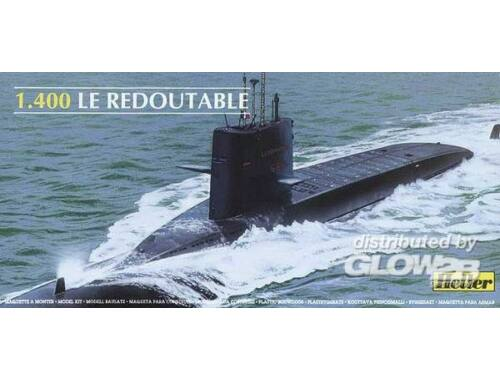 Heller U-Boot S/M Redoutable 1:400 (81075)