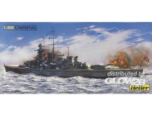 Heller Schlachtschiff Gneisenau 1:400 (81080)