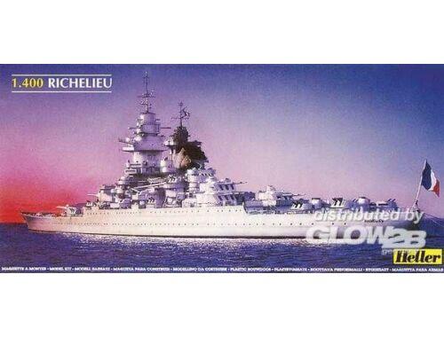 Heller Schlachtschiff Richelieu 1:400 (81086)