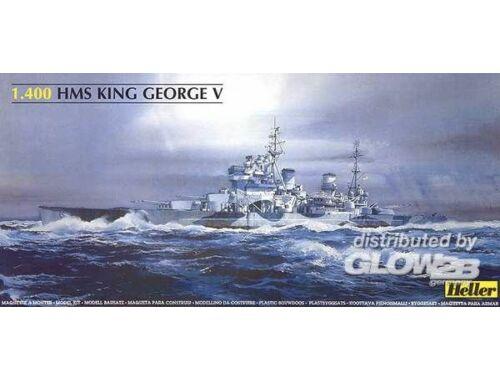 Heller Schlachtschiff King George V 1:400 (81088)