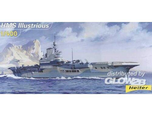 Heller Flugzeugträger HMS Illustrious 1:400 (81089)