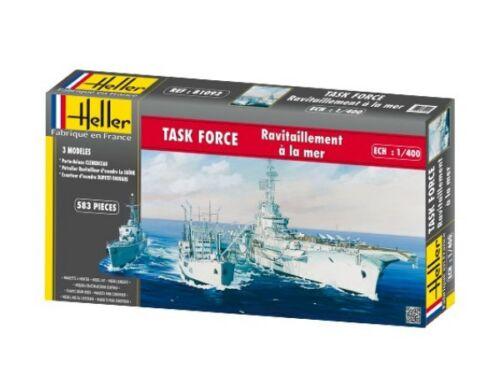 Heller TASK FORCE RAVITAILLEMENT A LA MER 1:400 (81092)