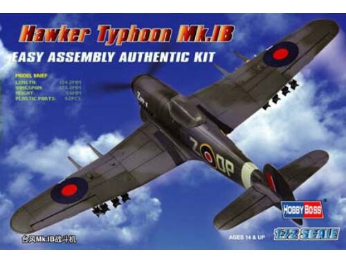 Hobby Boss Hawker Typhoon Mk.IB Fighter 1:72 (80232)