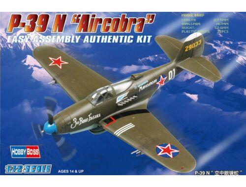 Hobby Boss American P-39 N 'Aircacobra' 1:72 (80234)