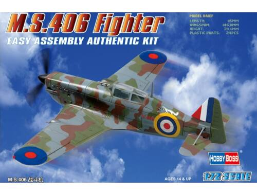 Hobby Boss MS.406 Fighter 1:72 (80235)