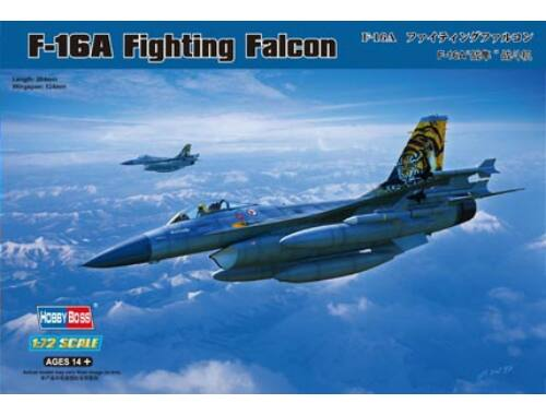 Hobby Boss General Dynamics F-16A Fighting Falcon 1:72 (80272)