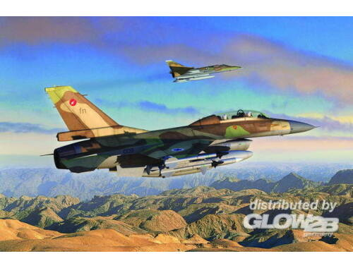 Hobby Boss General Dynamics F-16B Fighting Falcon 1:72 (80273)