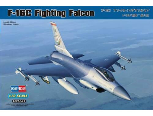 Hobby Boss F-16C Fighting Falcon 1:72 (80274)