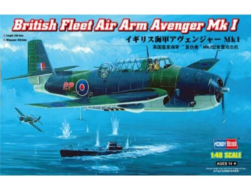 Hobby Boss British Fleet Air Arm Avenger Mk 1 1:48 (80331)
