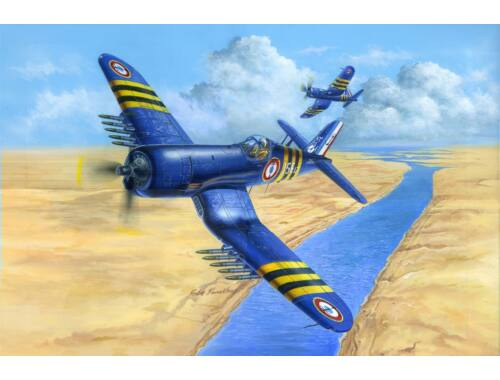 Hobby Boss F4U-7 Corsair FRENCH NAVY 1:48 (80392)
