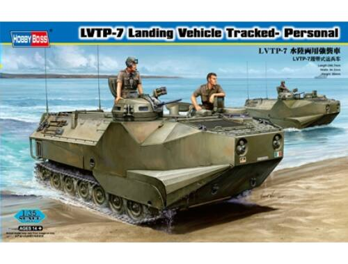 Hobby Boss LVTP-7 Landing Vehicle Tracked- Personal 1:35 (82409)