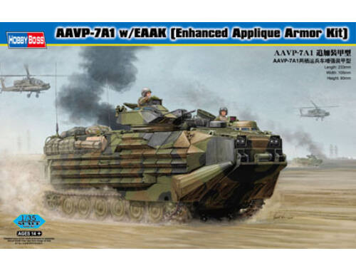 Hobby Boss AAVP-7A1 w/EAAK Enhanced Appliqué Armor Kit 1:35 (82414)