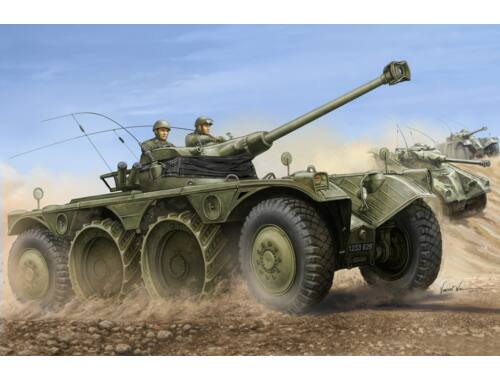 Hobby Boss French EBR-11 Wheeled Reconnaiss.Vehicle 1:35 (82490)