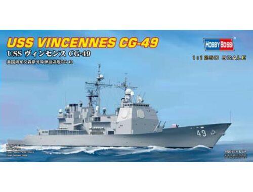 Hobby Boss USS VINCENNES CG-49 1:1250 (82502)