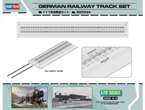 Hobby Boss German Railway Track set 1:72 (82902)