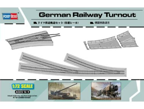 Hobby Boss German Railway Turnout 1:72 (82909)