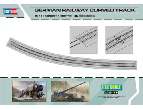 Hobby Boss German Railway Curved Track 1:72 (82910)