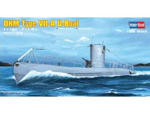 Hobby Boss DKM Navy Type VII-A U-Boat 1:350 (83503)