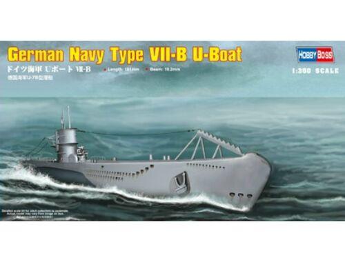 Hobby Boss German Navy Type VII-B U-Boat 1:350 (83504)