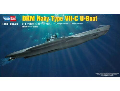 Hobby Boss German Navy Type VII-C U-Boat 1:350 (83505)