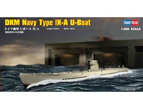 Hobby Boss DKM Navy Type IX-A U-Boat 1:350 (83506)
