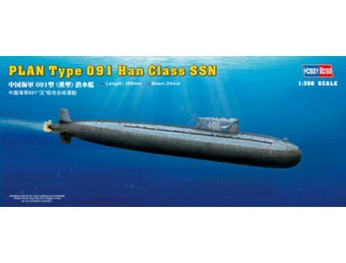 Hobby Boss PLAN Type 091 Han Class Submarine 1:350 (83512)